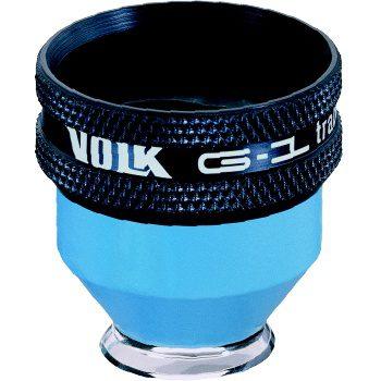 Volk G1 Trabeculum 1-Spiegel Kontaktglas mit Flange