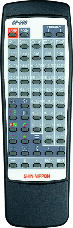 Fernbedienung für CP-500 (Halogen Modelle)