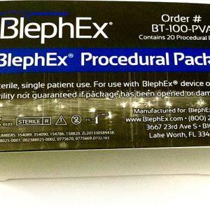 BlephEx - Packung sterile Einwegtips