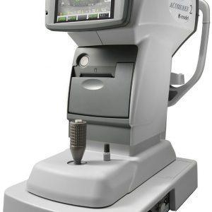 Autorefrakto-Keratometer ACOMOREF 2K mit Akkomodationsbreitenmessung und Eye Fatigue