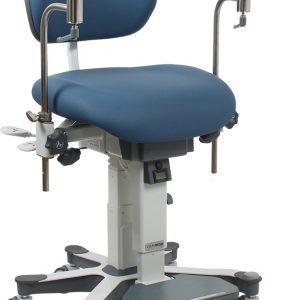 """VELA Medical """"Support+' Chirurgenstuhl"""" mit Rollen und Armauflagen, elektrisch höhenverstellbar"""