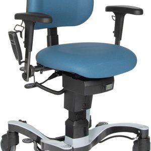 """fahrbarer Patientenstuhl VELA """"Basic+"""" mit elektrischer Höhenverstellung"""