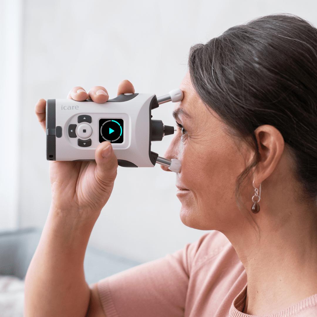 iCare HOME2 - das Selbsttonometer für Glaukompatienten